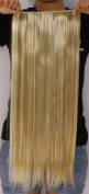 SR Hair 1Pc Long Straight Clip In Hair Extension Synthetic Ombre Hair Extension Japan Heat Resistant Fibre 50 Colours Available