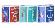 Swedish Dream 3 Pack Mix Set (Sea Salt + Seaweed + Sea Aster) Soap Bar 130ml USA