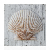 Prinz Sand Piper Resin Plaque with Seashell Design
