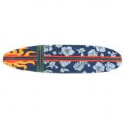 Homefires Accents Surfboard Navy 50cm by 180cm Indoor Rug,