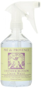 Pre de Provence Linen Water, Lavender, 500ml Bottle