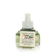 Yankee Candle Sage & Citrus Scent-Plug Air Freshener Refill, Fresh Scent