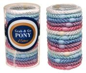L. Erickson Grab & Go Pony Tube - Pastel