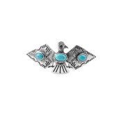 Kitsch Thunderbird Bun Pin, Silver, 5ml