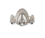 Kitsch Deco Bun Pin, Silver, 5ml