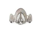Kitsch Deco Bun Pin, Silver, 5ml