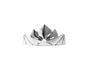 Kitsch Crown Bun Pin, Silver, 5ml