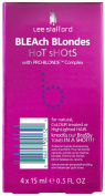 Lee Stafford Bleach Blondes Hot Shots With Pro-Blonde Complex 4 x 15ml