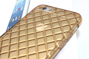 DIGIWAVES U.S.A. - For Apple iPhone 6 12cm (GOLD) Glitter Silicone TPU See-Thur Colour Glossy Cases With See-Thru Clear Transparent Soft Gel Skin Back Cover Case For iPhone 6 (12cm ) Slim Light Weight