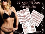 Exotic Henna Tattoo Art