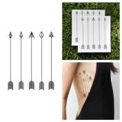 Arrows Temporary Tattoo