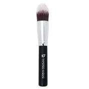 Concealer Makeup Brush for Eyes - Tapered Kabuki, Premium Synthetic Applicator for Maximum Coverage