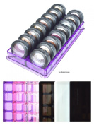 Acrylic Eyeshadow Organiser & Beauty Care Holder Provides 16 Space Storage | byAlegory