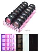 Acrylic Eyeshadow Organiser & Beauty Care Holder Provides 16 Space Stoarge | byAlegory