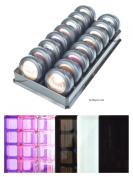 byAlegory Acrylic Eyeshadow Makeup Organiser   16 Spaces
