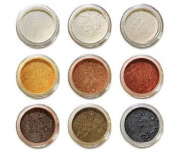 Amore Mio Cosmetics 9-Stack Eye Shadows Set, 02/B, 9-Count
