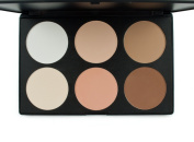 Outop Cosmetics Professional 6 Colours Contour Face Power Foundation Makeup Palette