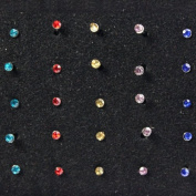 Best Surgical Steel Nose Stud Lot - 40 Piece Set