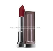 ONLY 2.5cm PACK Maybelline Colorsensational Creamy Mattes Lipstick, 695 Divine Wine