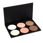 Easy lifestyles Professional 6 Warm Colours Concealer Camouflage Foundation Makeup Contour Palette Face Contouring Kit