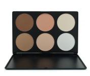 Goege Professional 6 Colour Makeup Palette Cosmetic Contour Powder Palette Face Contouring Kit