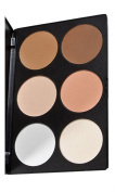 UZZO™Black Friday Deal Professional 6 Colours Concealer Camouflage makeup plate Contour Face Powder Blusher Blush Palette Makeup Blush Palette