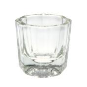 So Beauty 1pcs Glass Bowl Cup Dappen Dish Nail Art Liquid Powder Container