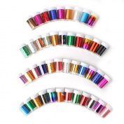 ECBASKET 30x Mixed Pattern Cool Easy Nail Art Design Nail Transfer Foils Kit Without Adhesive