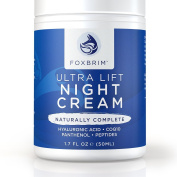 Ultra Lift Night Cream & Treatment - BEST Advanced Anti-Ageing - Professional Formula Addresses Wrinkles, Fine Lines, Crows Feet and Saggy Lifeless Skin - Restore Youth & Beauty with Superior Premium Ingredients - Natural & Organic - Amazing Guarantee
