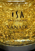 XANADU 24K Gold Vitamin C Serum Hyaluronic Acid Vitamin E Rose Serum Night Day Moisturiser and Foundation Primer by ISA Professional