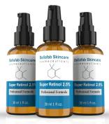 Bellafab Skincare Retinol Serum 2.5% Clinical Strength with 11% Hyaluronic Acid and Jojoba Oil. 30ml