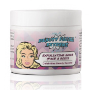 Best New Exfoliating Face & Body Scrub - Powerful microdermabrasion scrub that dramatically improves skin tone, texture, fine lines, age spots, sun spots, and wrinkles diminishing years of damaged skin. Reduce skin discoloration, brighten your complexi ..