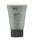 No7 Pore Vacuum Mask 50ml (1.69 Oz) Product of UK : An intensive mask which peels off to reveal less visible pores instantly.
