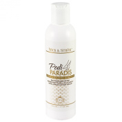 Luxurious Moisturising Foot Cream - Pedi Paradís from Wick & Ström - Made with Natural Almond & Sunflower Seed Oils, Vitamins E, B12 + More! - The Perfect Pedicure Companion - Restores Dry Cracked Feet (Take our 30 Day Challenge) - 180ml Size