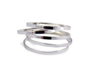 EUBUY Fashion Women Girls 5 PCS Set Rings Stack Plain Above Knuckle Rings Band Mid Finger Rings