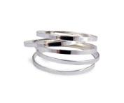 EUBUY Fashion Women Girls 5 PCS Set Rings Stack Plain Above Knuckle Rings Band Mid Finger Rings