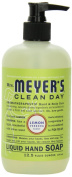 Mrs. Meyer's Clean Day Liquid Hand Soap, Lemon Verbena, 12.5 Fluid Ounce Bottles
