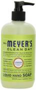 Mrs. Meyer's Clean Day Liquid Hand Soap, Lemon Verbena, 12.5 Fluid Ounce Bottles