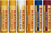 Burt's Bees 100% Natural Moisturising Lip Balm, Multipack, 6 Tubes