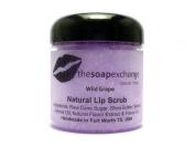 Wild Grape Lip Scrub - BIG 120ml Jar - by The Soap Exchange
