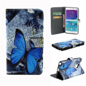 Sannysis Unique Flip Leather Case Cover For Samsung Galaxy Note 4
