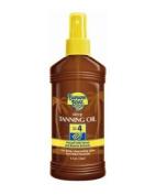 Banana Boat Dark Tanning Oil Spray Spf 4 Sunscreen, 240ml