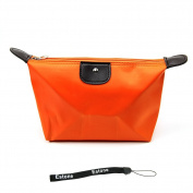 Estone Women Waterproof Zipper Cosmetic Makeup Bag Handbag Purse Pouch Pen Pencil Case