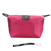Estone Women Waterproof Zipper Cosmetic Makeup Bag Handbag Purse Pouch Pen Pencil Case