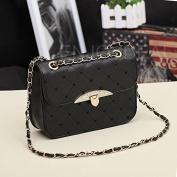 Enjoydeal Women PU Bag Crossbody Satchel Lattice Rhombus Pattern Handbag Single Shoulder Bag Purse
