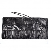 KLOUD City® Black Colour Professional Makeup Brush Roll-Up Pouch Holder Organiser/Bag/Case