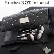Nanshy Makeup Artist Brush Belt Apron for Makeup Brushes and Tools with Long Belt an Alternative to Brush Holder