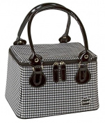 Caboodles Taper Tote Black and White