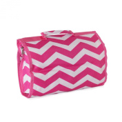 Womens Chevron Hanging Cosmetic Bag