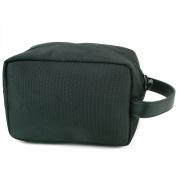 Alpine Swiss Hudson Travel Toiletry Bag Shaving Dopp Kit Black